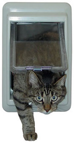e-Cat™ Electromagnetic Cat Door - Ideal Pet Products