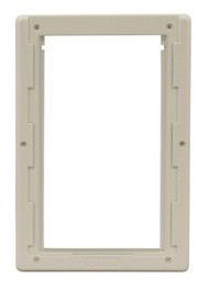 Medium Size Plastic Inside Frame With Slots For Slide. Designed For Door With  Flexible 3-Part LEXAN» Plastic Flap.