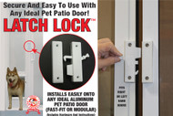 Pet Patio Door Latch-Lock — FREE SHIPPING!
