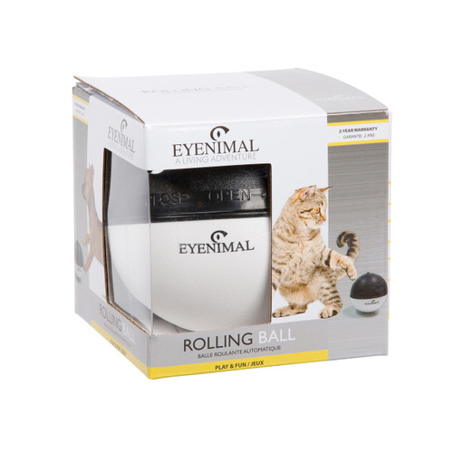 Rolling Ball - Eyenimal by Ideal Pet Products