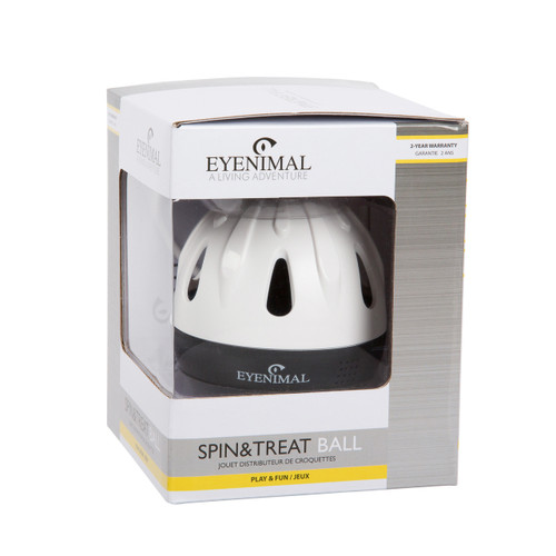 Spin & Treat Ball - Eyenimal by Ideal Pet Products