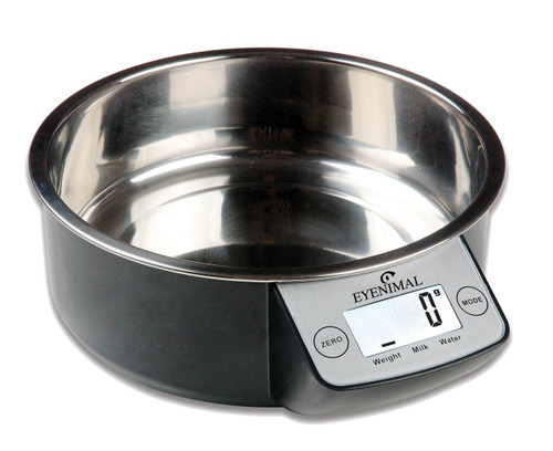 Intelligent Pet Bowl Black 1 - Eyenimal by Ideal Pet Products