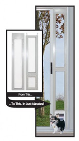"Perfect Pet Aluminum Modular Pet Patio Doors™ ""Great For Balconies"" – FREE SHIPPING!"