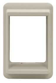 Medium Size E-Cat Door Plastic Outside Frame. For E-Cat Door Insert In A 900 Series Patio Door.In A 900 Series Patio Door.