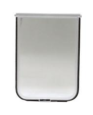 "Medium Size Chubby Kat 7-1/4 X 10-1/2"" FLAP Has Solid LEXAN» Plastic Flap/Plastic Frame In A Fast-Fit Patio Door Or Aluminum Modular Patio Door. For Chubby Kat Door Insert Only."