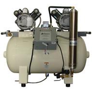 Sierra Dental Eagle Oil-less Direct Drive Air Compressor, EGL-12VX/2HP