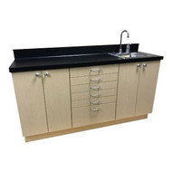 Heritage Essential Custom Cabinet with Sink, HE-5A