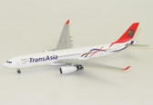 JC Wings TransAsia Airbus A330-300 Reg: B-22105 with Antenna Scale 1/400 JC4304