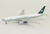 "JC Wings PIA Boeing 777-200ER Reg: AP-BMG ""Retro"" with Antenna Scale 1/400 JC4308"