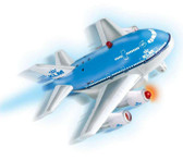 KLM Fun Plane with lights and sound