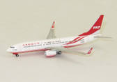JC Wings FAT Boeing 737-800 B-28066 With Antenna Scale 1/400