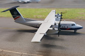 HERPA WINGS BRITISH AIRWAYS EXPRESS DHC-7 DASH 7  G-BRYD DIE-CAST SCALE 1/200