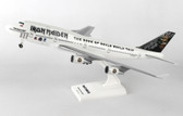SKYMARKS IRON MAIDEN BOEING 747-400 WITH GEAR (FULLY LICENSED)  SCALE 1/200