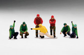 US NAVY DECK CREW LAUNCH TEAM (7 FIGURES) Scale 1/200 TSMWAC007 Expected January 2018