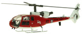 AVIATION 72 WESTLAND GAZELLE ROYAL NAVY 705 NAS CULDROSE ZB647/40 SCALE 1/72