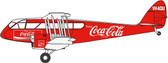 Oxford Diecast COCA COLA Dragon Rapide VH-AQU Scale 1/72  Due February  2018