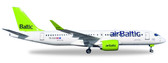 Herpa  Air Baltic Bombardier CS300 - YL-CsA (Metal model) Scale 1/200