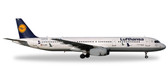 """Herpa Lufthansa Airbus A321 """"25 years Crane Protection"""" - D-AIRR """"wismar""""  Scale 1/200  Due February  2018"""