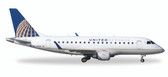 Herpa United Express (Republic Airlines) Embraer E170 & # 8722 N644RW  Scale 1/400