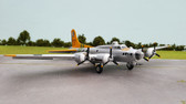 AIR FORCE ONE B-17 FLYING FORTRESS SILVER SCALE 1/72