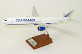 JC WINGS TRANSAERO AIRLINES BOEING 777-300 REG: EI-UNM WITH STAND SCALE 1/200 JCLH2049
