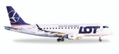 Herpa LOT Polish Airlines Embraer E170 - SP-LDH Scale 1/500
