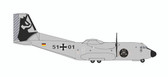 """Herpa Luftwaffe C-160 Transall - Air Transport Wing 61 """"60th Anniversary 5101  Scale 1/500"""