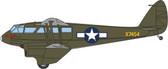 OXFORD DIECAST  DH89 DRAGON RAPIDE X7454 USAAF - WEE WULLIE SCALE 1/72 OX72DR015