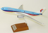 JC WINGS CHINA EASTERN AIRLINES AIRBUS A330-200 REG: B-5943 EASTDAY.COM WITH STAND SCALE 1/200 JCLH2132