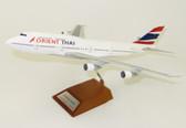 JC WINGS ORIENT THAI B747-300 WITH STAND LIMITED 80PCS SCALE 1/200 JCLH2041