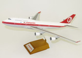 JC WINGS MALAYSIA B747-400 \'RETRO\' 9M-MPP WITH STAND SCALE 1/200 JCLH2009