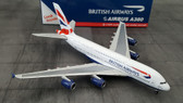 Gemini Jets British Airways Airbus A380 G-BBIG Scale 1/400 GJBAW823