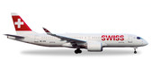 Herpa Swiss International Air Lines Bombardier CS300 - HB-JCB  Scale 1/200 558952