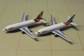 GEMINI JETS BRITISH AIRWAYS  737 TWIN PACK SCALE 1/400 GJBAWSET1 CK