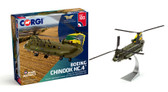 Corgi  Chinook HC.4 ZA683 RAF No.27 Squadron, 'Special Centenary Scheme' - 100 Years of the RAF Scale 1/72 AA34214 Due 1st half of 2018