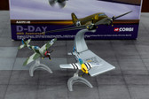 Corgi D-Day 60th Anniversary C-47 Thunderbolt and Mustang Scale 1/72 AA99148