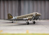 1944 C-47 USAF D-Day markings Scale 1/144 MM020
