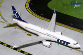 Gemini 200 LOT Boeing 737 Max 8 Scale 1/200 G2LOT707