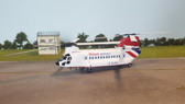 Corgi Chinook British Airways Helicopters Aberdeen 1982 Scale 1/72 AA34207