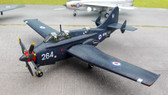 Atlas 1970 Fairey Gannet with stand Scale 1/100 approx Atlas003