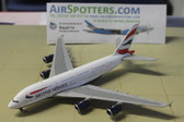 Gemini Jets British Airways A380 with antennas G-XLEB Scale 1/400 GJBAW1500 CK