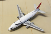 Gemini Jets British Airways Boeing 737-200 G-BDGS Scale 1/400 GJBAW136
