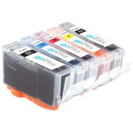 1 Go Inks Compatible Set of 5 HP 364 XL Printer Ink Cartridges Compatible / non-OEM for HP Photosmart Printers