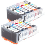 2 Compatible Sets of 5 HP 364 (HP364XL) Printer Ink Cartridges