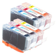 2 Compatible Sets of 3 C/M/Y HP 364 (HP364XL) Printer Ink Cartridges (Colour Set)
