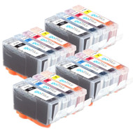 4 Go Inks Compatible Sets of 4 HP 364 XL Printer Ink Cartridges Compatible / non-OEM for HP Photosmart Printers