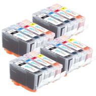 4 Compatible Sets of 4 HP 364 (HP364XL) Printer Ink Cartridges