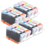 4 Go Inks Compatible C/M/Y Sets of 3 Colour HP 364 XL Printer Ink Cartridges Compatible / non-OEM for HP Photosmart Printers