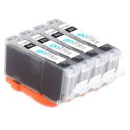 4 Photo Black Compatible HP 364PBk (HP364XL) Printer Ink Cartridges
