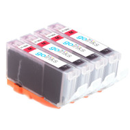 4 Magenta Compatible HP 364M (HP364XL) Printer Ink Cartridges